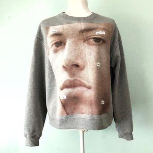 Zara Current_New_Face Sweatshirt Size Small